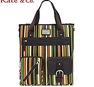 kate.co® Women PVC / Canvas Tote Multi-color - TH-02046