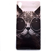 For Sony Case / Xperia Z5 Pattern Case Back Cover Case Cat Soft TPU for Sony Sony Xperia Z5 / Sony Xperia Z5 Compact / Sony Xperia E4