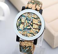 Vintage Fashion Pattern Graffiti Unisex Watches