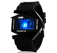 Men's Watches Multifunctional Stealth Aircraft Tide Jelly Electronic Watch Cool Watch Unique Watch
