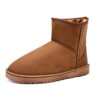 Sapatos Masculinos Botas Preto / Azul / Marrom / Amarelo / Vermelho Courino Ar-Livre / Escritório & Trabalho / Casual