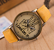 Unisex Circular Quartz Fashion Wrist Watch i can do it Word Watch Women's Watch Student Watch Men Watch(Assorted Colors) Cool Watches Unique Watches