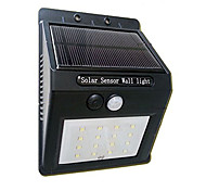 16Led Solar Panel Powered Motion Sensor Lamp Outdoor Light Garden Security Light
