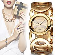 WeiQin Damen Modeuhr Armband-Uhr Quartz Legierung Band Bettelarmband Schwarz 1 # 2 # 3 # 4 #