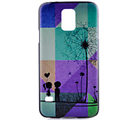 paardebloem patroon pc harde case voor Samsung Galaxy S6 rand plus / galaxy s5 / galaxy s5 mini