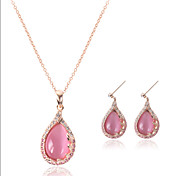 New Fashion American Jewelry Opal Jewelry Set