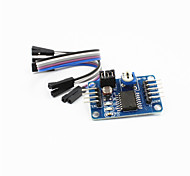 PCF8591 AD / DA / Analog to Digital / Digital-to-Analog Converter Module w/ Dupont Cable - Deep Blue