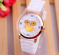 Beautiful women Personalized color Watch silicone watch