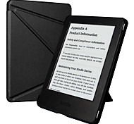 ESR Yippee Color Series Patented Tri-fold Design Glare-Free PU Leather Magnetic Smart Case for Kindle 7th Gen-Black