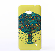 Owls Pattern TPU Soft Case for Nokia N640