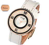 Personalized Gift Minimalist Fashion Lady Leather Watch