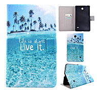 Painted Bracket Tablet PC Case for Galaxy Tab 3 7.0/Galaxy Tab 4 7.0/Galaxy Tab 3 Lite