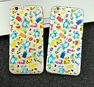 Front+Side+Back Full-Body 3D Cartoon Screen Sticker for iPhone 6/6S(Assorted Colors)