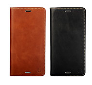 Multicolor Oil Side Section First Layer of Leather Wallet Holster For Sony Xperia Z3  (Assorted Colors)