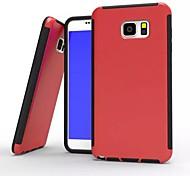 Retour couvercle en silicone pc de conception spéciale en plastique de silicone pour Samsung Galaxy Note 3 / note 4 / note 5