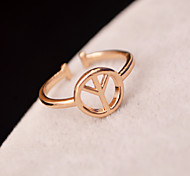 Y-shaped joint ring fashion personality