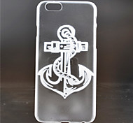 Anchors Pattern PC Material Phone Case for iPhone 6