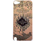 Marauders Pattern PC Hard Back Cover Case for iPod Touch 5