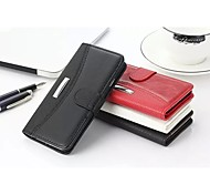 Business Litchi Grain & Crazy Horse Joining Together Genuine Leather Card Slot and Stand Wallet Case for Iphone 6