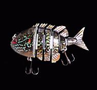 1 pc Esche rigide / Esca Esche rigide Nero 14 g Oncia,80 mm pollice,Plastica dura Pesca di mare