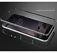 fácil magnético metal de alumínio pára-choques moldura caso fino para iphone 6 mais