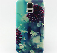 flower painting patroon TPU zachte hoes voor Samsung Galaxy S3 mini / mini s4 / s5 mini