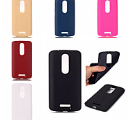 Leather Texture Soft TPU Case for Moto X3