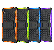 HHMM 2in1 Plastic and TPU Accessory Bracket Cover Case For Sony Xperia  Z5 e6603,e6633,e6653,e6683 (Assorted Colors)