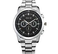 Fashion Men's Stainless Steel Quartz Business Watch Wrist Watch Cool Watch Unique Watch