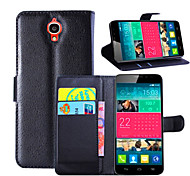 Turn Around the Card Support For Alcatel Idol X Protective Sleeve OT-6040D Mobile Phone