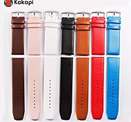 Women And Men Single Button With Leather Case Watchband Fashion for Kakapi Apple Watch38/42mm Assorted Colors