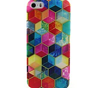 mosaico di colore TPU soft cover per iPhone 5 / 5s