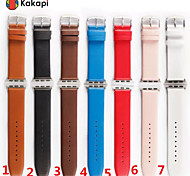 Classic Buckle Leather Case Winding Real Leather Watchband With The Connector for Apple iWatch 38/42mm  Assorted Colors