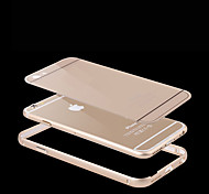 Luxury Acrylic Panel+Metal Aluminum Hybrid Shockproof Protective Cover Case for iPhone 6S/6S(Assorted Colors)