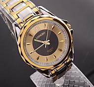 Men Alloy Waterproof Steel Strip Wrist Watches