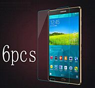 6pcs alta transparencia cristalina lcd pantalla clara paño de limpieza protector de 8.0 T710 T715 tableta Galaxy Tab de Samsung s2