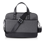 "Genuine Leather Messenger Shoulder Laptop Computer Bag Briefcase Notebook Handbag for Apple iPad/Macbook Pro Air 13""/14"""
