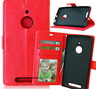 High Quality PU leather Wallet Mobile Phone Holster Case For Nokia Lumia 830(Assorted Color)