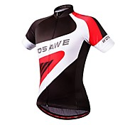 WOSAWE Brand Professional Man Summer Sport Cycling Breathable Shirt Women Bike Quick Dry Top Short Sleeve Jersey