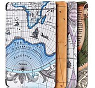 7 Inch Map Pattern High Quality PU Leather Case for Amazon Fire HD 7(2015)(Assorted Colors)