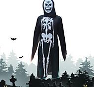 trajes de Halloween Os trajes do fantasma esqueleto