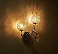 Kristal / LED / Ministijl / Lamp Inbegrepen Muurlampen,Hedendaags G4 / G9 Metaal