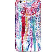 Watercolor chimes Pattern TPU  Back Cover Case for iPhone 6/iPhone 6S