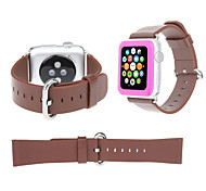 Leather Classic Buckle Watch Straps Wristband Wrist Band for Apple Watch 38mm 42mm