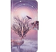 The Magpie Pattern Full Body Cover with Card Slot for Samsung Grand Prime