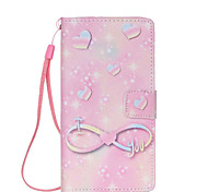 Pink World  Pattern PU Leather Phone Case For Huawei  P8 Lite