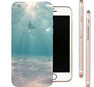 Perfect Close Limit Seabed Top TPU Material Soft Phone Case for iPhone 6 Plus/6S Plus