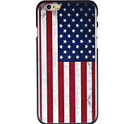 americano padrão de bandeira pc Capa para iPhone 6