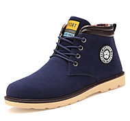 Men's Shoes Outdoor / Athletic / Casual  Boots Black / Blue