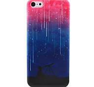 Meteor Shower Pattern TPU Soft Phone Case for iPhone 5C